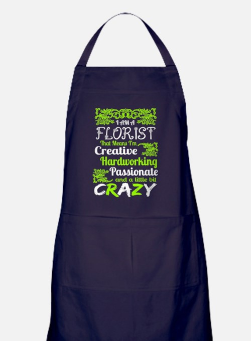 Cute Florist Apron (dark)