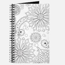 Flower Garden Galaxy Journal