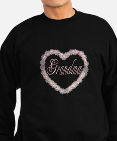 Grandma - Heart of Flower Sweatshirt
