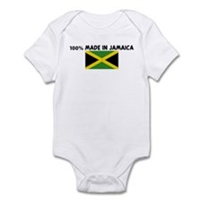 100 PERCENT MADE IN JAMAICA Infant Bodysuit