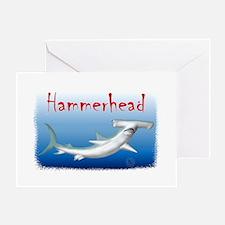 Hammerhead Shark Greeting Cards