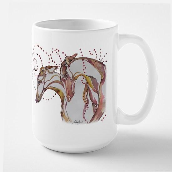 Greyhound Swirls Mugs