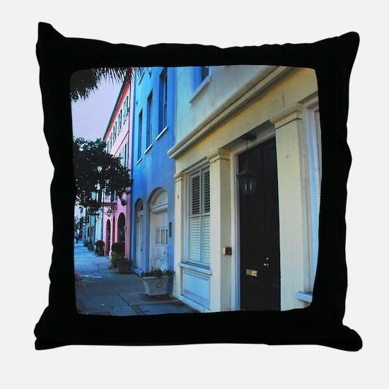 Cute Downtown Throw Pillow