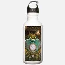 Steampunk, noble design Water Bottle