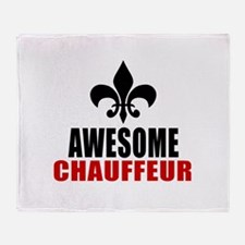 Awesome Chauffeur Throw Blanket