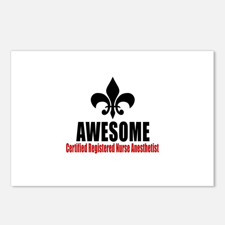 Awesome Certified Registe Postcards (Package of 8)
