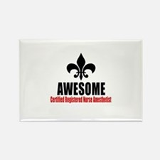 Awesome Certified Registered Nurs Rectangle Magnet