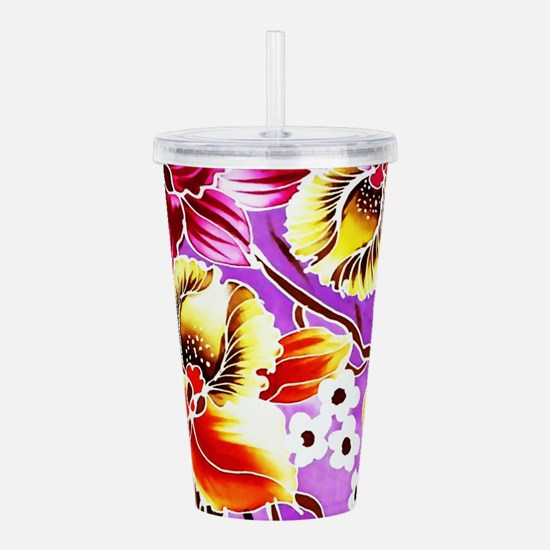 No. 020 Batik Art Asia Acrylic Double-wall Tumbler