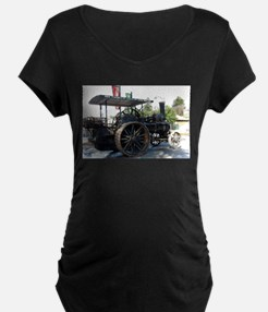 Traction Engine Maternity T-Shirt