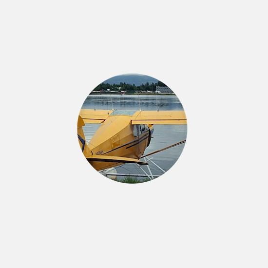 Float plane 6, Lake Hood, Anchorage, A Mini Button