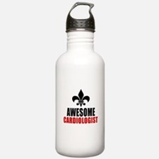 Awesome Cardiologist Water Bottle