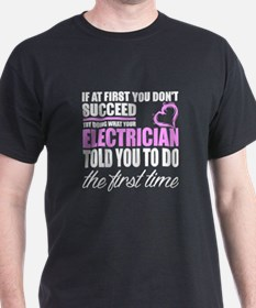 Cool Electrician funny T-Shirt