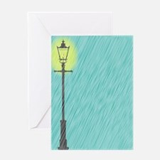 Funny Lamppost Greeting Card