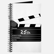 25th Year Clapperboard Journal