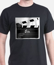 5th Year Clapperboard T-Shirt