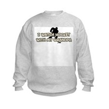 Pittsburgh Hockey Grandpa Sweatshirt