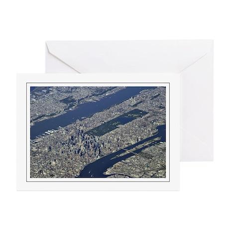 Aerial Midtown Greeting Cards (Pk of 10)