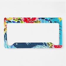 No. 019 Batik Art Asia Master License Plate Holder