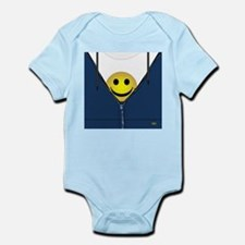 13th Pattern; Hidden Smiley Face Body Suit