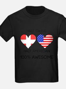 Half Swiss Half American T-Shirt