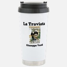 OPERA - LA TRAVIATA - G Stainless Steel Travel Mug
