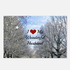 Cute Husband Postcards (Package of 8)