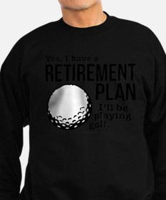 Golf Retirement Plan Jumper Sweater