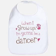 dancer_future_brown Baby Bib
