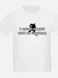 San Jose Hockey Grandma T-Shirt