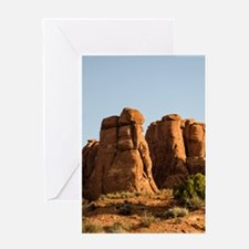 Arches Sandstone Fins Card Greeting Cards