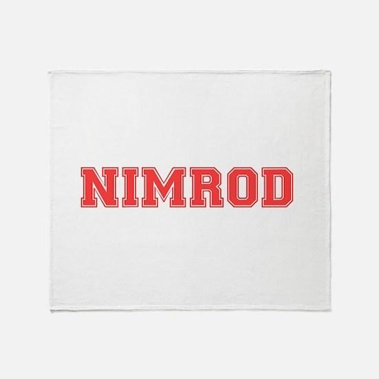 NIMROD Throw Blanket