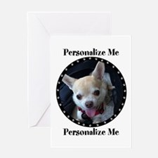 Personalized Paw Print Greeting Card