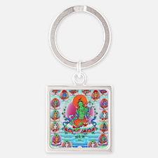 Unique Tibetan Square Keychain