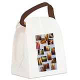 Salon Canvas Lunch Bag