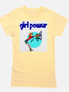 Girl Power Basketball T-Shirt