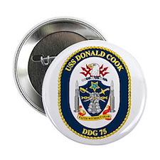 "USS Cook DDG 75 2.25"" Button (10 pack)"