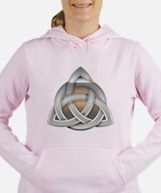 Silver Triquerta with Amber Glow Sweatshirt