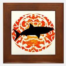 SHARK Framed Tile