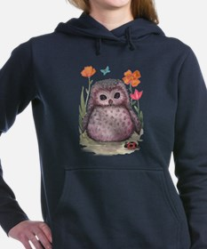 Purple Portly Owlet Sweatshirt