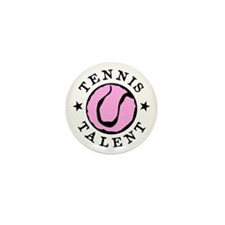 Tennis talent Mini Button (10 pack)