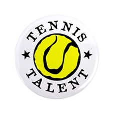"Tennis Talent 3.5"" Button"