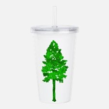 TREE Acrylic Double-wall Tumbler