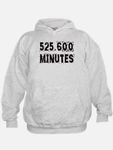 525,600 Minutes (light) Hoodie Sweatshirt