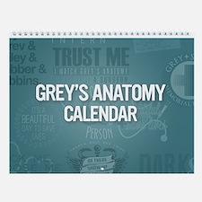 grey's anatomy Wall Calendar