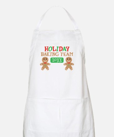 Holiday Baking Team Customizable Apron