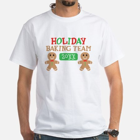 Holiday Baking Team Personalized Classic T-Shirt