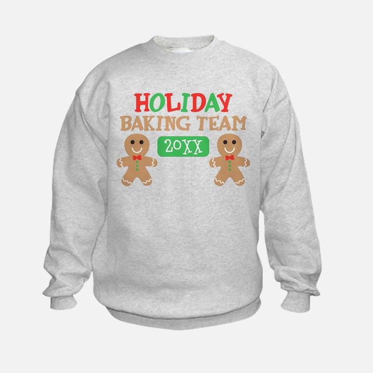 Holiday Baking Team Customizable Sweatshirt