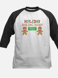 Holiday Baking Team Customiza Kids Baseball Jersey