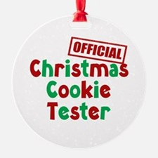 Christmas Cookie Tester Ornament