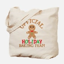Official Holiday Baking Team Tote Bag